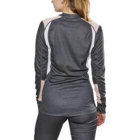 Craft Langt undertøj Damer, dark grey melange/touch